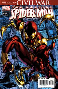Cover for The Amazing Spider-Man (Marvel, 1999 series) #529 [Second Printing]