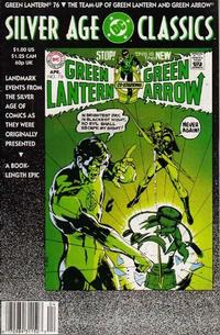 Cover Thumbnail for DC Silver Age Classics Green Lantern 76 (DC, 1992 series)
