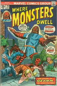 Cover Thumbnail for Where Monsters Dwell (Marvel, 1970 series) #29