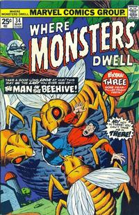 Cover Thumbnail for Where Monsters Dwell (Marvel, 1970 series) #34