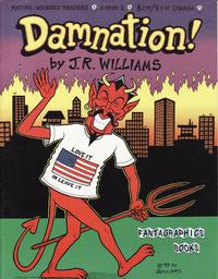 Cover Thumbnail for Damnation! (Fantagraphics, 1994 series) #1