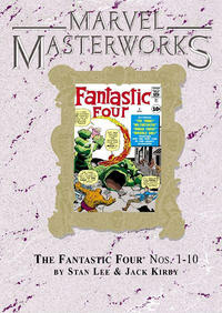 Cover Thumbnail for Marvel Masterworks: The Fantastic Four (Marvel, 2003 series) #1 (2) [Limited Variant Edition]