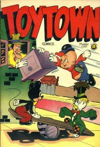 Cover Thumbnail for Toytown Comics (Orbit-Wanted, 1946 series) #6