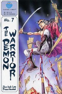 Cover Thumbnail for The Demon Warrior (Eastern Comics, 1987 series) #7