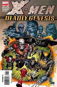 Cover for X-Men: Deadly Genesis (Marvel, 2006 series) #1 [Direct Edition]