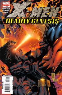 Cover for X-Men: Deadly Genesis (Marvel, 2006 series) #2