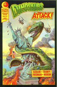 Cover Thumbnail for Dinosaurs Attack! The Graphic Novel (Eclipse, 1991 series) #1