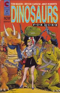 Cover Thumbnail for Dinosaurs for Hire (Malibu, 1988 series) #3