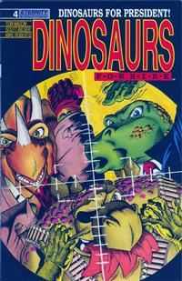 Cover Thumbnail for Dinosaurs for Hire (Malibu, 1988 series) #4