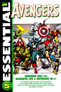Cover Thumbnail for Essential Avengers (Marvel, 1999 series) #5