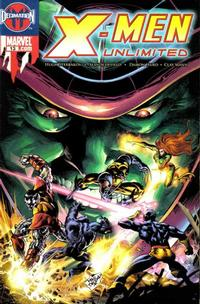 Cover Thumbnail for X-Men Unlimited (Marvel, 2004 series) #13