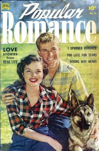 Cover Thumbnail for Popular Romance (Pines, 1949 series) #15