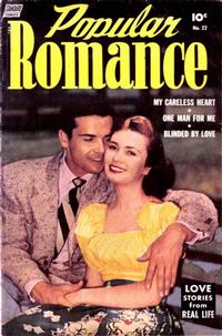 Cover Thumbnail for Popular Romance (Pines, 1949 series) #22