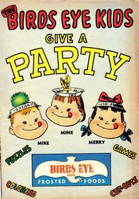 Cover Thumbnail for The Birds Eye Kids Give a Party (Marvel, 1957 series)