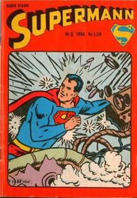 Cover Thumbnail for Supermann (Serieforlaget / Se-Bladene / Stabenfeldt, 1966 series) #6/1966