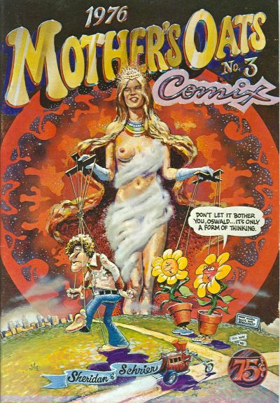 Cover for Mother's Oats Comix (Rip Off Press, 1969 series) #3
