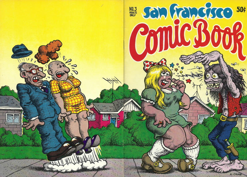 Cover for San Francisco Comic Book (San Francisco Comic Book Company; The Print Mint, 1970 series) #3