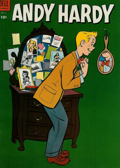 Cover for Andy Hardy (Dell, 1954 series) #5