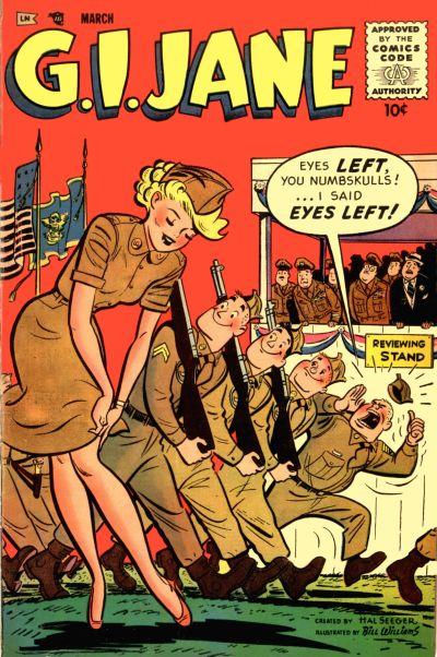 Cover for G.I. Jane (Merit, 1955 series) #11