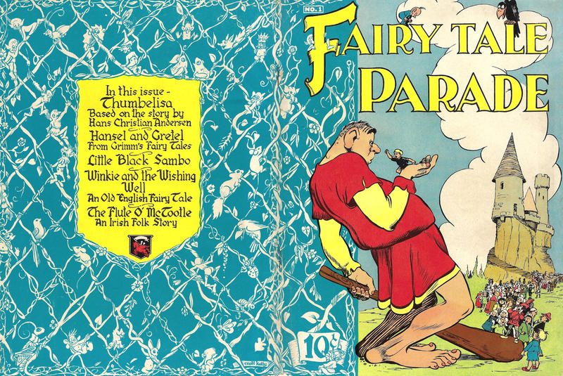Cover for Fairy Tale Parade (Dell, 1942 series) #1