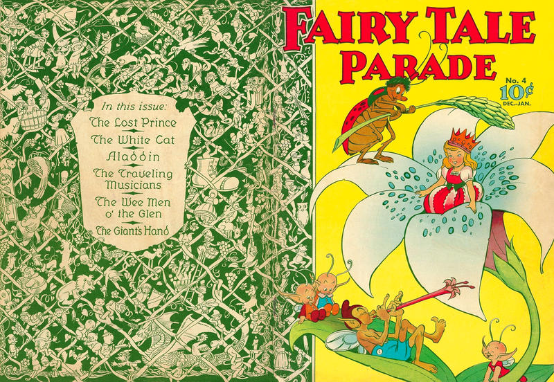 Cover for Fairy Tale Parade (Dell, 1942 series) #4
