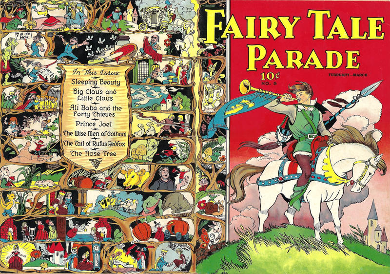 Cover for Fairy Tale Parade (Dell, 1942 series) #5