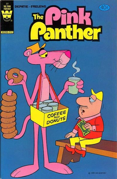 Cover for The Pink Panther (Western, 1971 series) #77