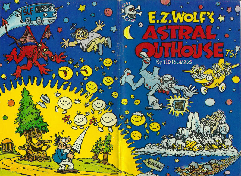 Cover for E. Z. Wolf's Astral Outhouse (Last Gasp, 1977 series)