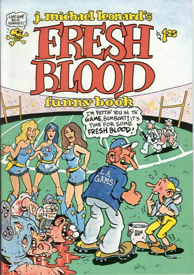 Cover for Fresh Blood Funny Book (Last Gasp, 1978 series)