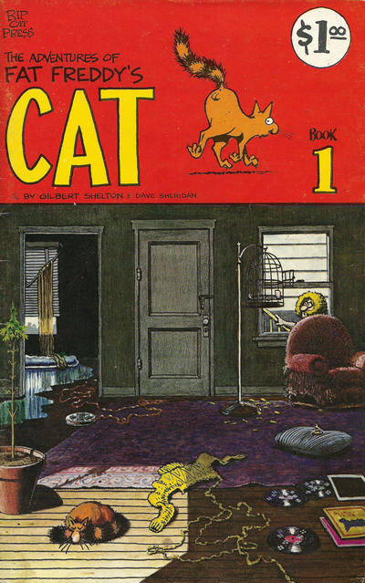 Cover for Fat Freddy's Cat (Rip Off Press, 1977 series) #1
