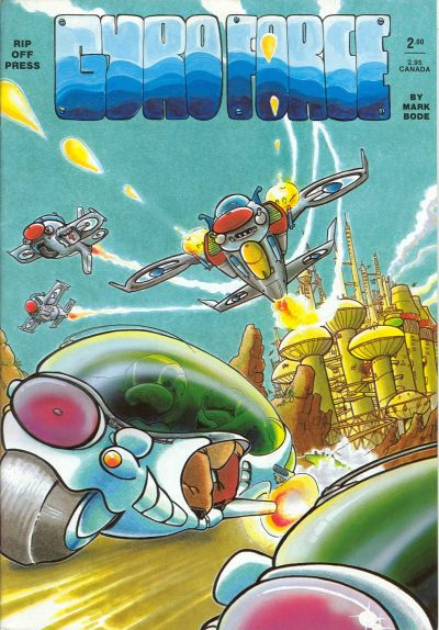 Cover for Gyro Force (Rip Off Press, 1987 series) #[nn]