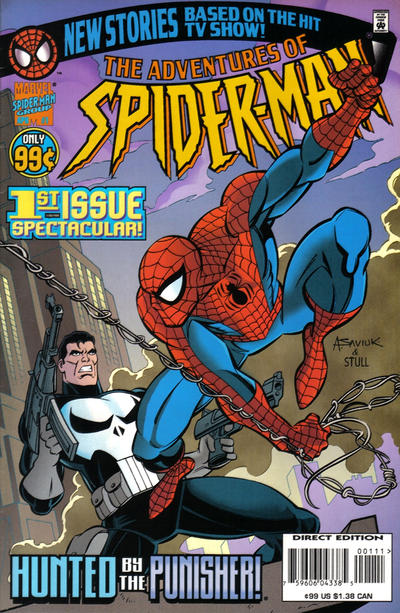 Cover for The Adventures of Spider-Man (Marvel, 1996 series) #1