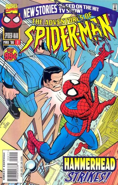 Cover for The Adventures of Spider-Man (Marvel, 1996 series) #2