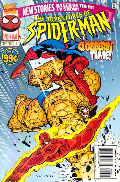 Cover for The Adventures of Spider-Man (Marvel, 1996 series) #6