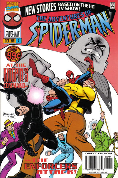 Cover for The Adventures of Spider-Man (Marvel, 1996 series) #7