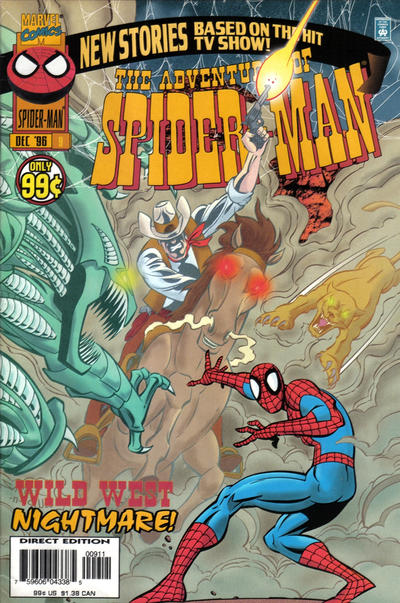Cover for The Adventures of Spider-Man (Marvel, 1996 series) #9