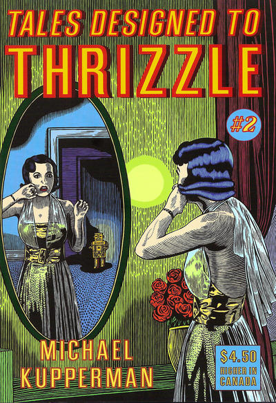 Cover for Tales Designed to Thrizzle (Fantagraphics, 2005 series) #2