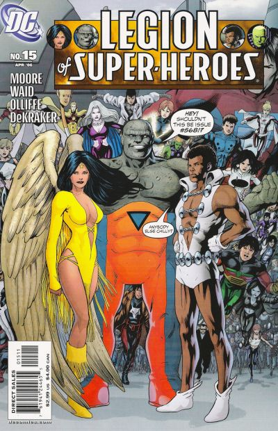 Cover for Legion of Super-Heroes (DC, 2005 series) #15