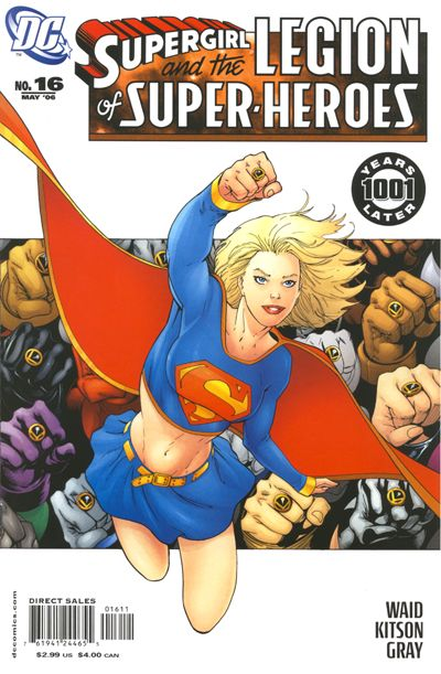 Cover for Supergirl and the Legion of Super-Heroes (DC, 2006 series) #16