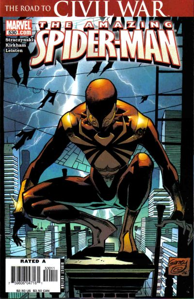 Cover for The Amazing Spider-Man (Marvel, 1999 series) #530 [Direct Edition]