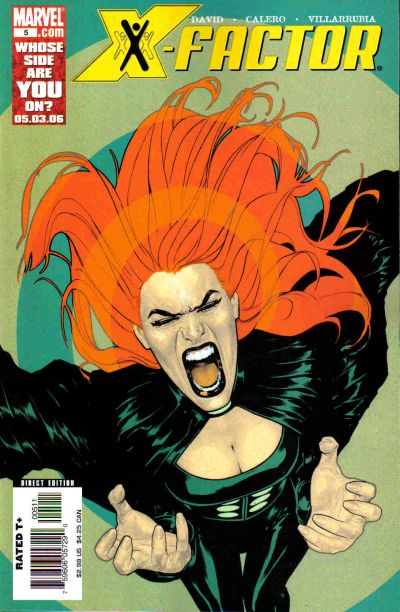 Cover for X-Factor (Marvel, 2006 series) #5