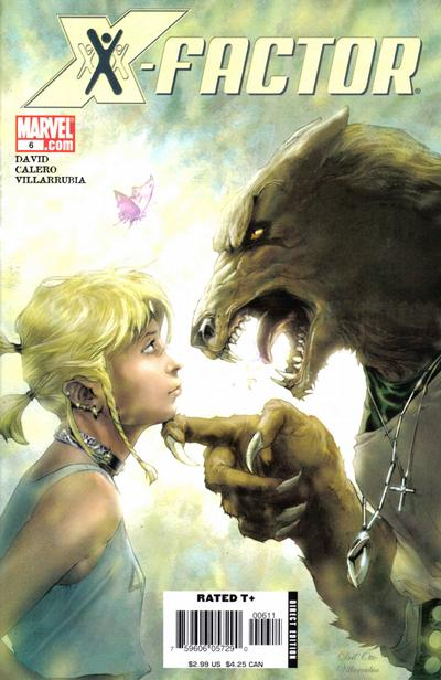 Cover for X-Factor (Marvel, 2006 series) #6