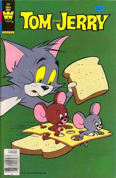 Cover for Tom and Jerry (Western, 1962 series) #328