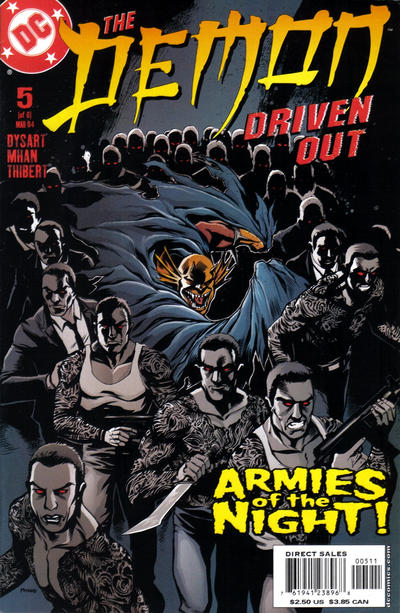 Cover for Demon: Driven Out (DC, 2003 series) #5