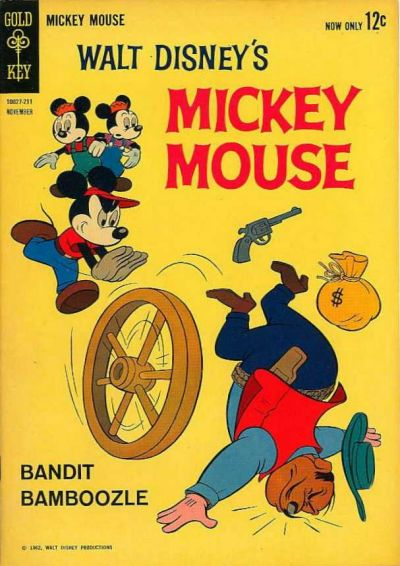 Cover for Mickey Mouse (Western, 1962 series) #85
