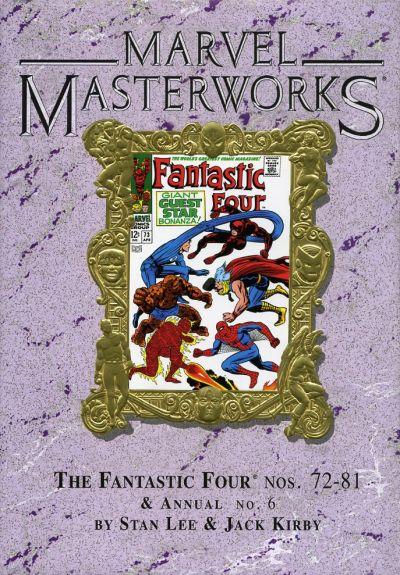 Cover for Marvel Masterworks: The Fantastic Four (Marvel, 2003 series) #8 [Regular Edition]