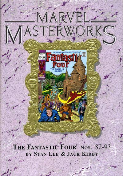 Cover for Marvel Masterworks: The Fantastic Four (Marvel, 2003 series) #9 [Regular Edition]