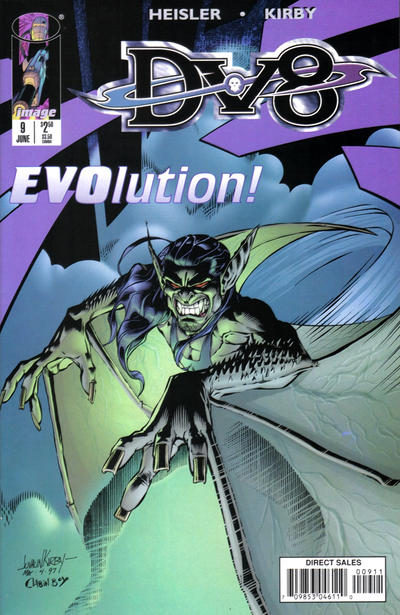 Cover for DV8 (Image, 1996 series) #9