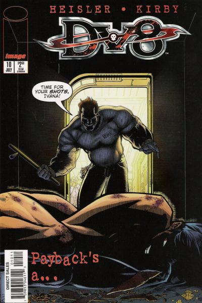 Cover for DV8 (Image, 1996 series) #10