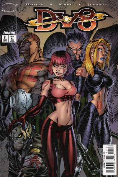 Cover for DV8 (Image, 1996 series) #11